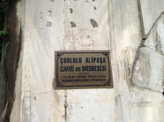 Corlulu Ali Pasa Medresesi: Çorlulu Ali Paşa Medresesi