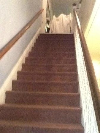 Inn of Cape May: Lovely staircase.  Reminded me of the Titanic.