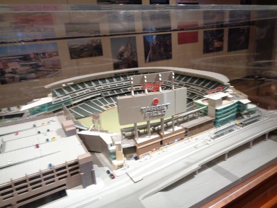 Target Field: a model of the stadium