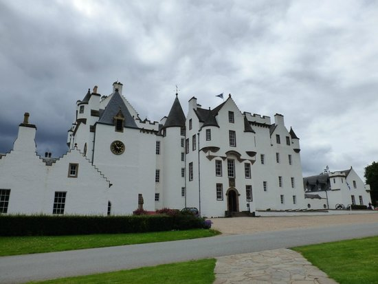 Blair Castle and Hercules Gardens: Dramatic exterior