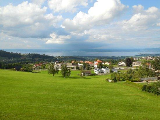Hotel Heiden: Blick vom Zimmer Richtung Lindau(D)