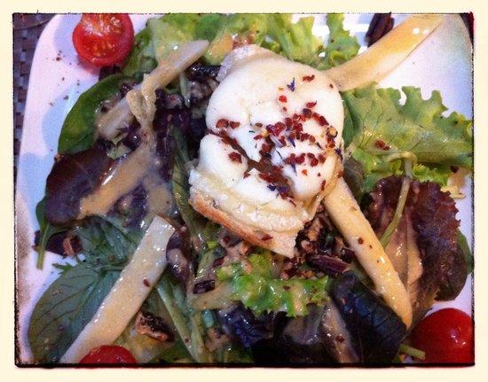 Cafe de la Collegiale : Salade de chèvre chaud !