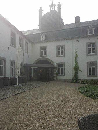 Buitenplaats Vaeshartelt: Vanaf terrasje genomen naar Receptie...