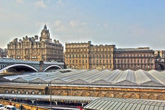 Jurys Inn Edinburgh: Aussicht