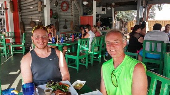 My dad and I at Turtle Kraals