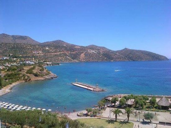 Mirabello Beach & Village Hotel : View from our beautiful terrace