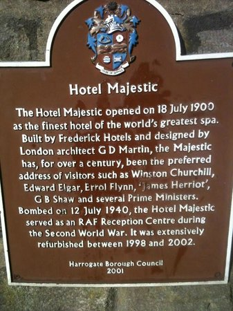 The Majestic Hotel: Back in the day