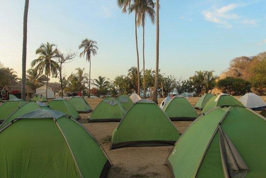 Camping Tayrona: outdoors view!
