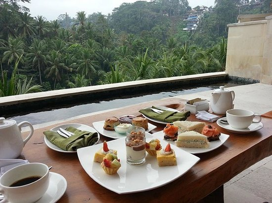 Four Seasons Resort Bali at Sayan: Sayan Afternoon Tea @ Four Seasons Bali