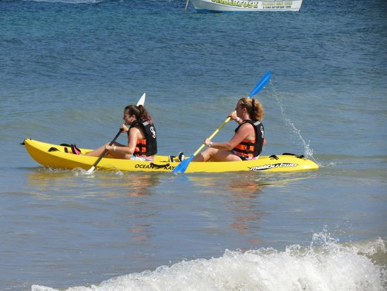 Iberostar Cozumel: kayaks ( $2 per person per day)
