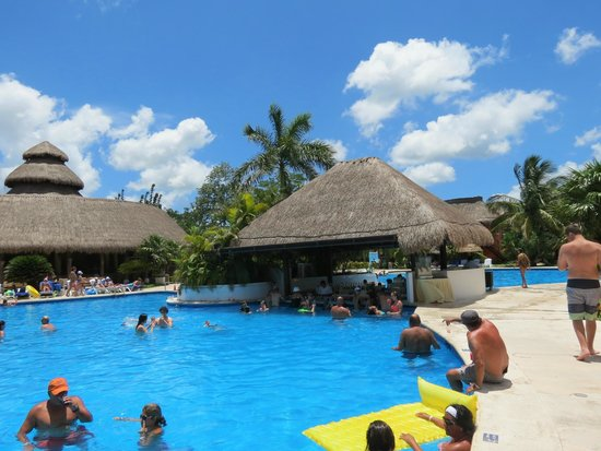Iberostar Cozumel: pool bar