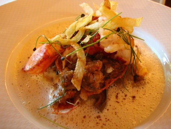 Restaurant Le Pressoir : Homard breton simplement rôti...