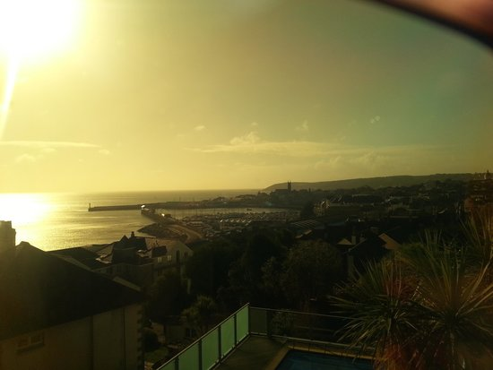 Hotel Penzance: Through my sunglasses!!