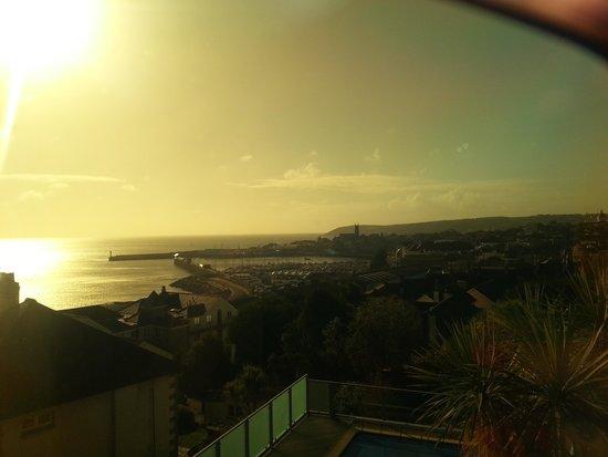 Hotel Penzance : Through my sunglasses!!