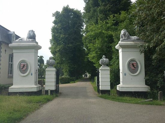 Buitenplaats Vaeshartelt: Ingang 'Poort' Hotel Vaeshartelt...