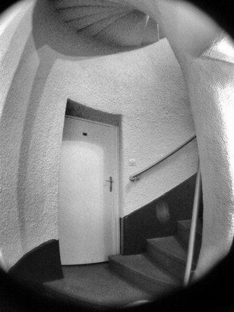 Hotel de Bretagne : stairs
