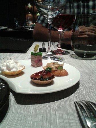 Chapeau Rouge Restaurant William Frachot : Les mises en bouche