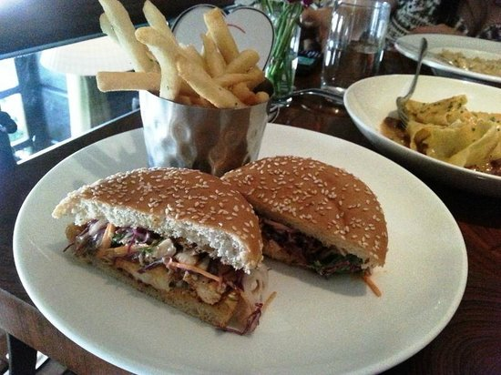 The Table : Red Snapper Sandwich