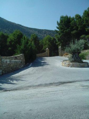 Hotel Balneario de Zújar- La Alcanacia: entrada al hotel