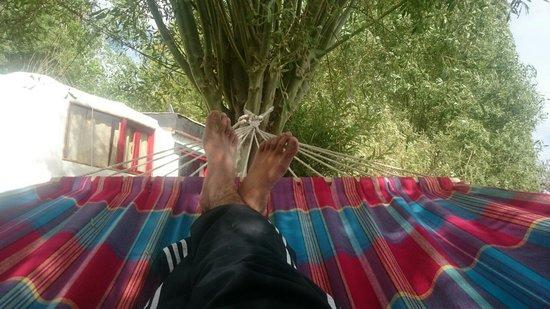Ladakh Sarai : Idling places