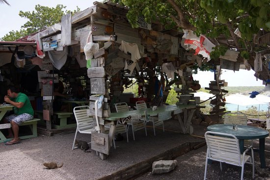 Pineapple Beach Club Antigua : Mary's Outhouse - best ribs and barbecue chicken!
