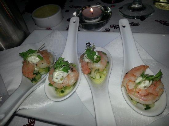 Hotel Penzance : Excellent food!