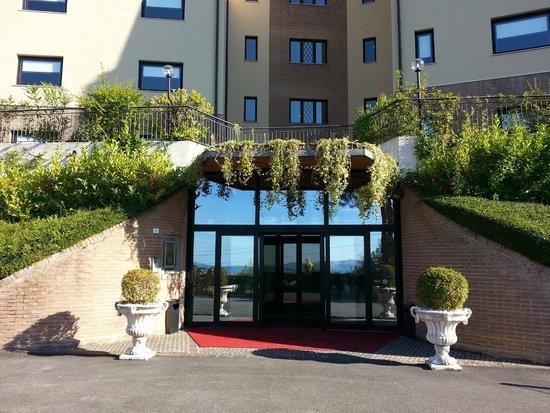 Mamiani Hotel Urbino : Hotel Mamiani Entrata