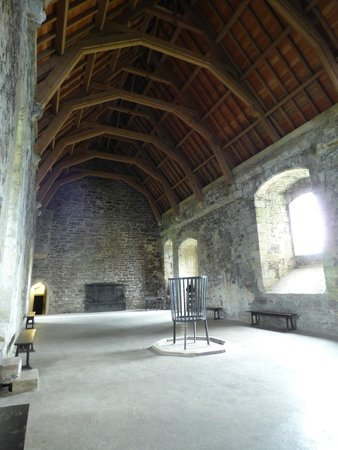Doune Castle: The great hall