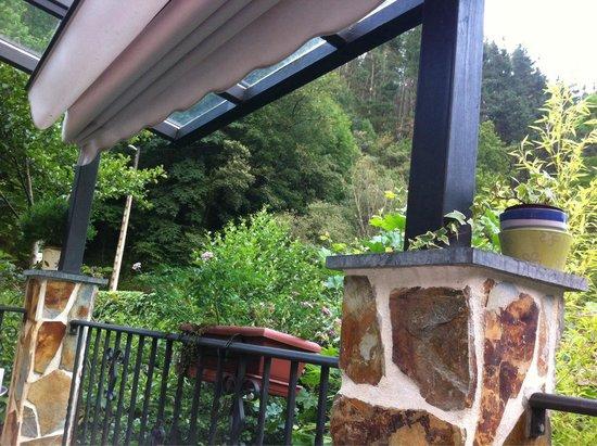 La Casa del Puente: Terraza