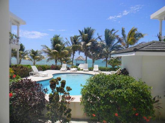 Tara del Sol: Pool view