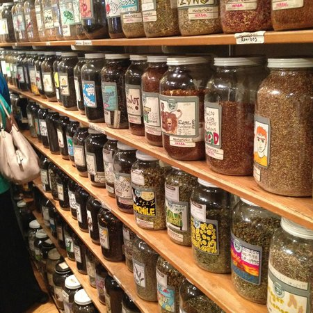 Savor Seattle Food Tours: Spices and teas in Market Spice.