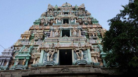 Marundeeswarar Temple : Temple gopuram