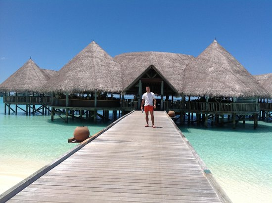 Gili Lankanfushi Maldives : Going to have Lunch... ohhhhh