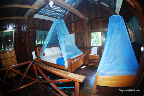 Red Frog Bungalows: Upstairs in the Bungalow. Sleeps 5-6 comfortably