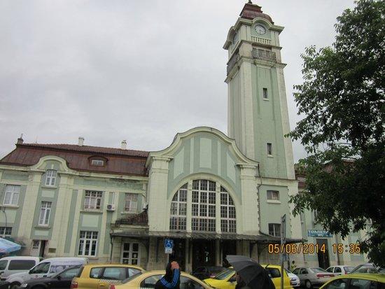 Hotel Aqua Bourgas: вокзал бургасс