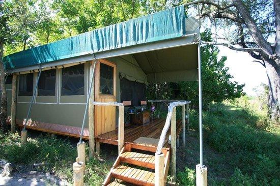 Sango Safari Camp : Notre lodge
