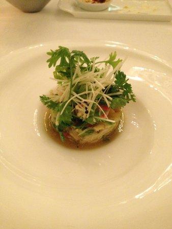 Jumeirah Zabeel Saray: Crab Dish Voi