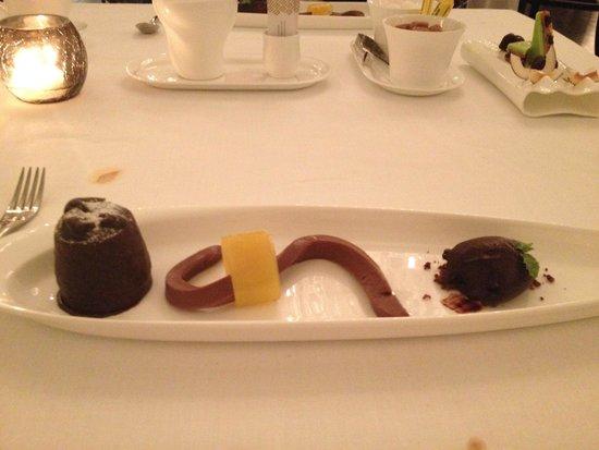 Jumeirah Zabeel Saray: Dessert Voi