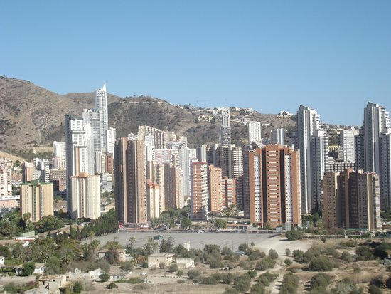 Marconfort Benidorm Suites: view from  landing