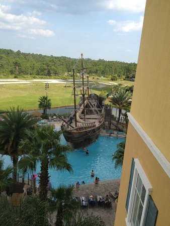 Lake Buena Vista Resort Village & Spa: Pool view from balcony