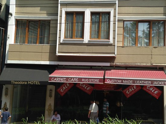 The Empress Theodora Hotel : Front of the hotel