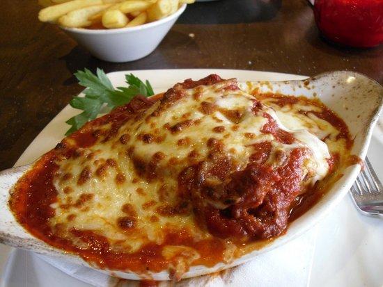 Tony Macaroni: lasange el forno