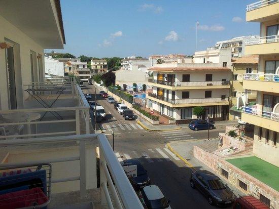 Aparthotel Maracaibo: View from balcony on 2nd floor
