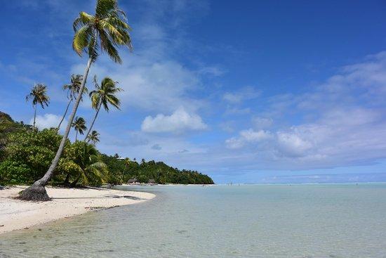 Pension Teheimana: plage