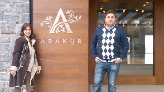 Arakur Ushuaia Resort & Spa: Ingreso