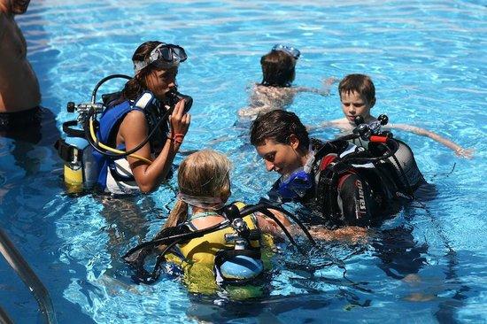 Diving in Elba: Corsi in piscina