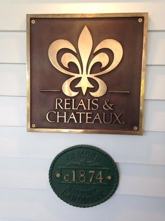 Relais & Chateaux Camden Harbour Inn : Nice!