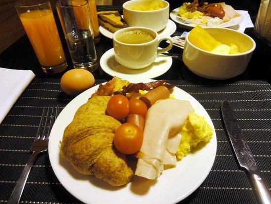 Starhotels Ritz : breakfast buffet