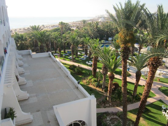 Marhaba Beach Hotel: vue chambre