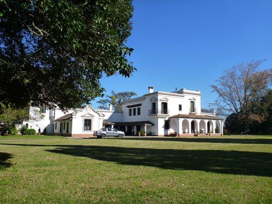 Estancia San Ambrosio: The hacienda across the grounds.